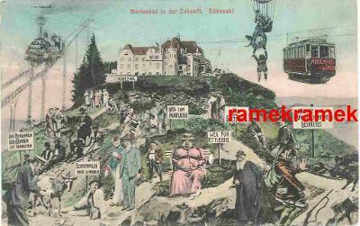 Mariánské Lázně budoucnost 1911 (Cheb Planá Tachov