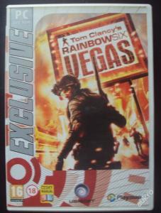 PC hra ,,Tom Clancy´s Rainbow Six Vegas,,