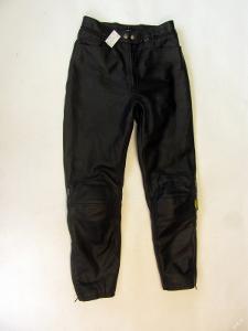 Kožené kalhoty POLO vel. S - obvod pasu: 72 cm