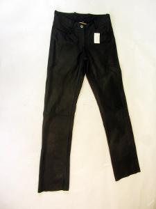 Kožené broušené kalhoty HIGHWAY vel.34 pas: 72 c