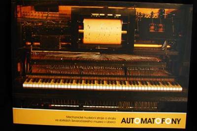 Automatofony (hudební stroje a strojky, katalog)