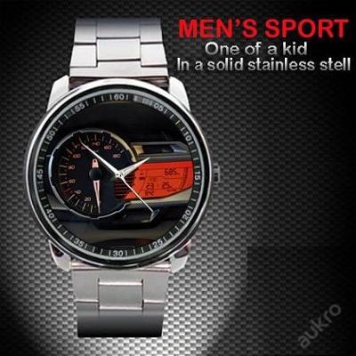 Hodinky BMW C 600 Sport Speedometer nerezová oce