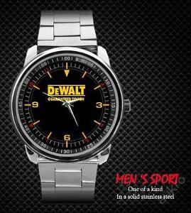 Hodinky Dewalt Logo nerezová ocel