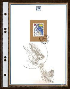 Slovensko 1997 NL28 - nálepný list