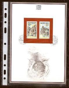 Slovensko 2000 NL41 - nálepný list