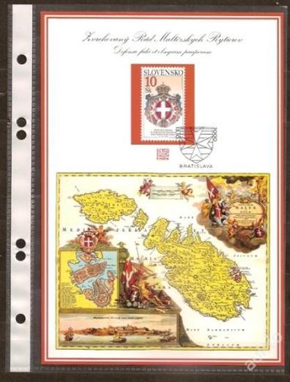 Slovensko 2000 NL45 - nálepný list - Filatelie