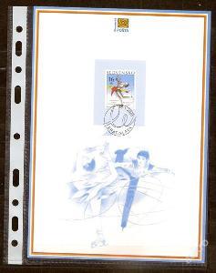 Slovensko 2001 NL47 - nálepný list