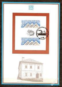 Slovensko 1995 NL19 - nálepný list