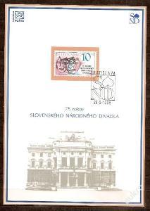 Slovensko 1995 NL15 - nálepný list