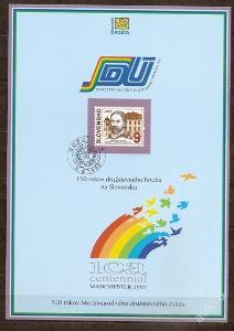 Slovensko 1995 NL14 - nálepný list