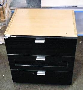 Kontejner pod psací stůl se šuplíky (7343)