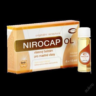 NIROCAP - vlasový balzám pro mastné vlasy