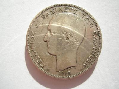 Řecko 2 drachma 1873 A