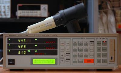 Chroma 7120 analyzátor barev s měřicí sondou