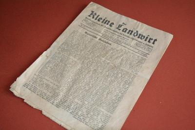 noviny Der Kleine Landwirt 1.9.1932