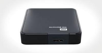Externí černý WD Element Portable 3.0 2TB na ND,opravu
