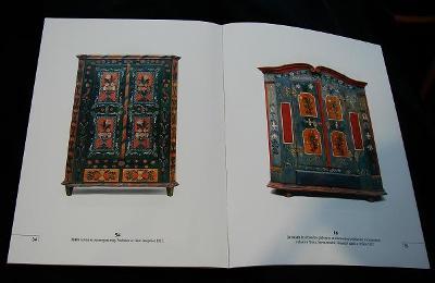 Lidový malovaný nábytek Litomyšlsko (katalog)