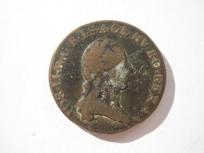 Josef II. 1 krejcar 1782 C