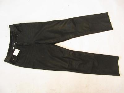 Kožené broušené kalhoty HELD - obvod pasu: 74 cm