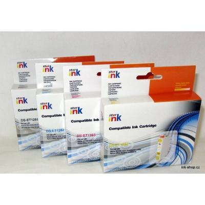 SADA náplní T1281-T1284, T1285, pro Epson, 4ks