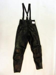 Kožené dámské kalhoty vel. 40 pas: 70 cm
