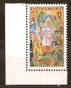 Slovensko 1998 kat.č.Mi309/Zb149