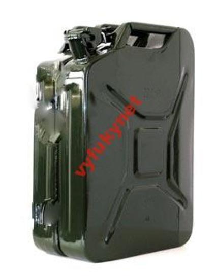 Kanistr - 5L, 10L, 20L - ocelový NOVÝ - Náhradní díly a příslušenství pro osobní vozidla