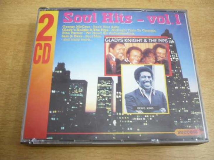 2 CD-SET: SOUL HITS Vol.1 - Hudba