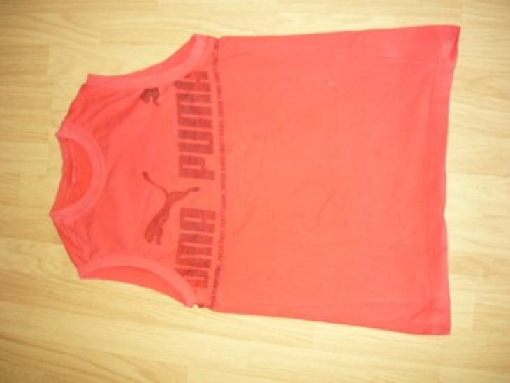Pánské značkové triko bez rukávů PUMA-L - Pánské oblečení