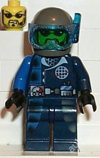 LEGO figurka Alpha Team - Hračky