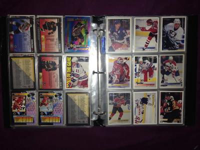 hokejové karty Premier Hockey 93/94/95 kartičky