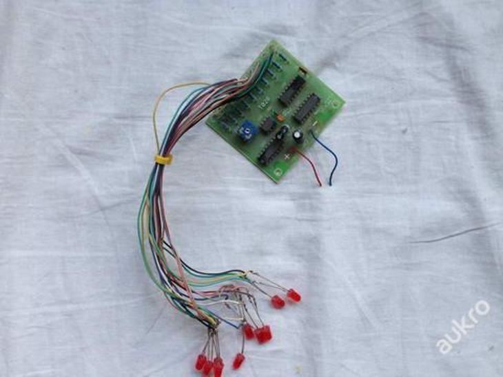 LED běžící světlo obvod PC tunning - Elektronika