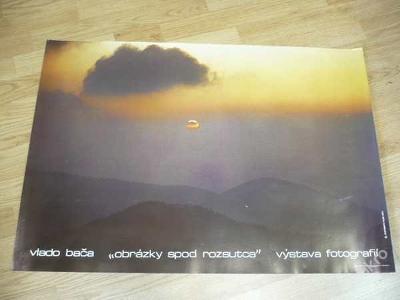 Velký plakát: VLADO BAČA výstava fotografií