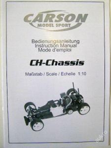 Art. 59169 manuál CH-chassis 1:10 CARSON