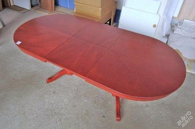Konferenční stolek,rozkládací,nastav. výška (4057)
