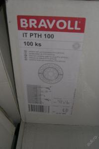 talířek na izolační vatu hmoždinka 200ks1ks/3,2kč)