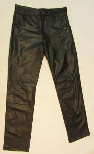 Kožené kalhoty RACY vel. 33 - obvod pasu:80cm