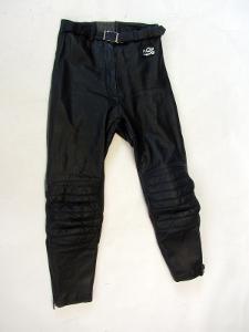 Kožené dámské kalhoty MQP vel. 36 - pas: 70 cm
