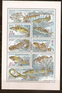 Slovensko 1998 kat.č.Mi317-319/Zb.157-159 H