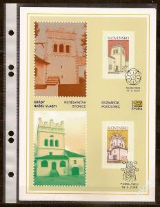 Slovensko 2006 NL66 - nálepný list