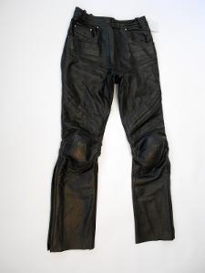 Kožené dámské kalhoty RICHA vel. 36 - pas: 66 cm