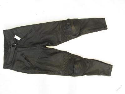 Kožené kalhoty KRAWEHL vel.44 - obvod pasu: 72 c