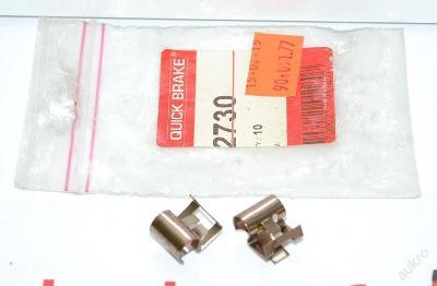 Vymezovací plech brzdové destičky Quick Brake 2730