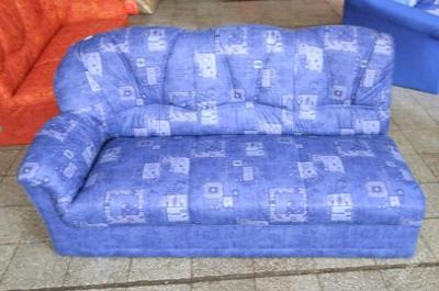 Sofa nerozkládací, mikroplyš 160 cm (5346)