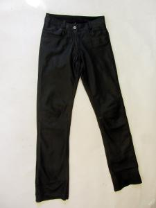 Kožené kalhoty HIGHWAY vel. 34 - pas: 70cm