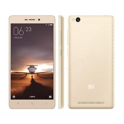 Silikonový obal Xiaomi Redmi 3 - bílý (průhledný)