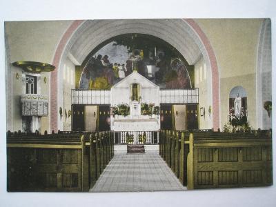 Kroměříž - Vnitřek kaple léčebného ústavu
