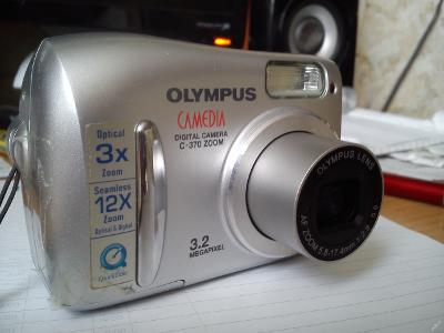 OLYMPUS Camedia C-370 ZOOM 3.2Mpx