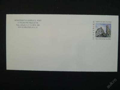 Slovenská služební obálka CSO 13 - z roku 2006