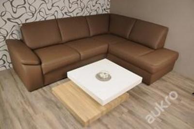Luxusní konferenční stolek rozkládací (7995) E